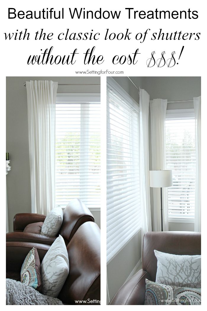 Best 25 Faux Wood Blinds Ideas On Pinterest Diy Window Blinds Diy Interior Window And Make
