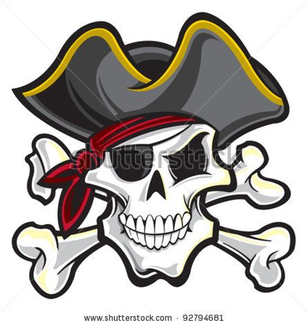 pirate stock vector