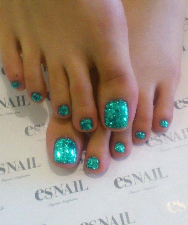50+ Pretty Toe Nail Art Ideas