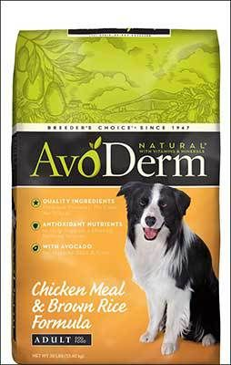 AvoDerm Dog Food Review | HypoallergenicDogFoodcenter.com