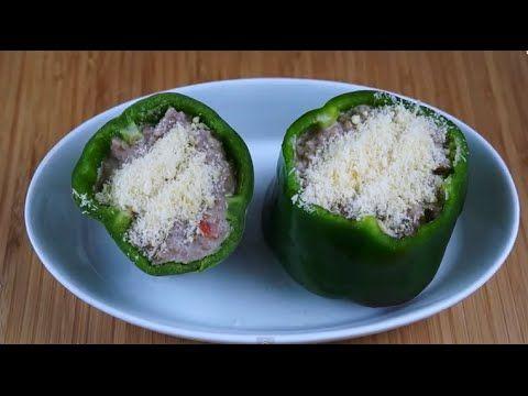 #016 - Receita de Pimentão Recheado com Carne Moída | CozinhandoRapido