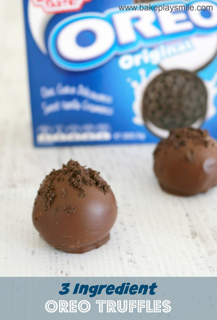 Thermomix Oreo Truffles... the BEST things ever!!!   Bake Play Smile