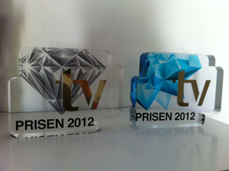 statuetter til TV Festival 2012+2013