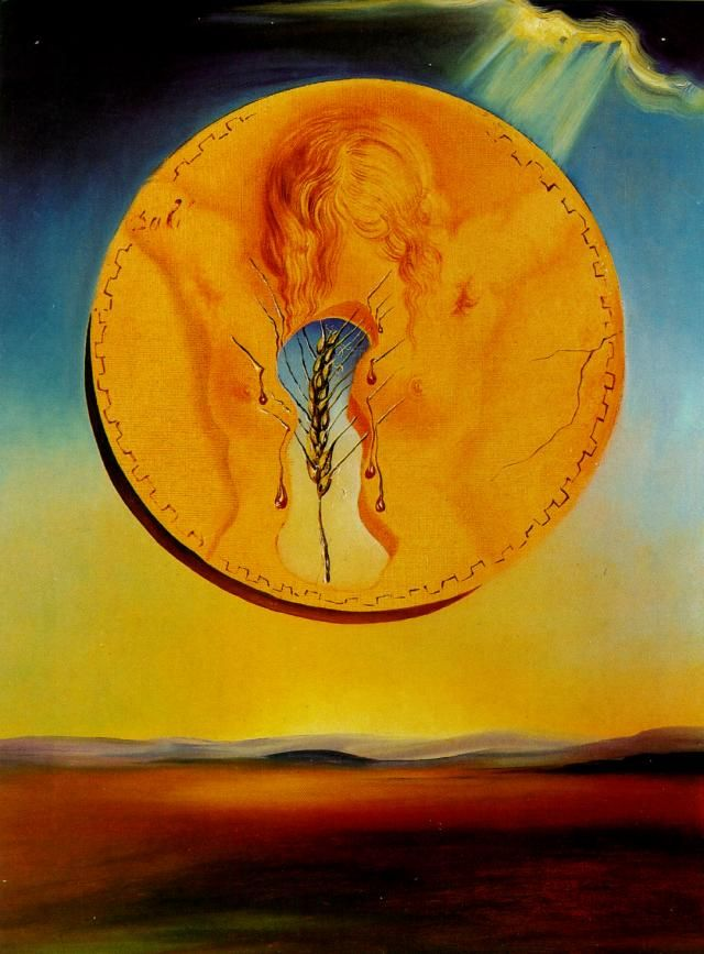 Fertility 1977 by salvador dali artist dali for All of salvador dali paintings