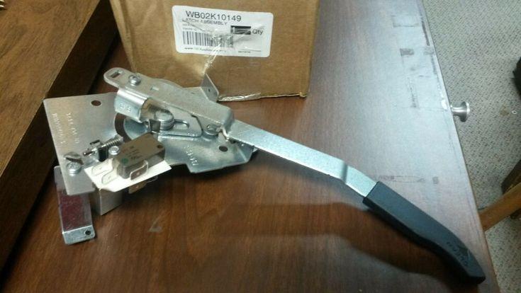 Gehotpointsears kenmore range latchlock assembly