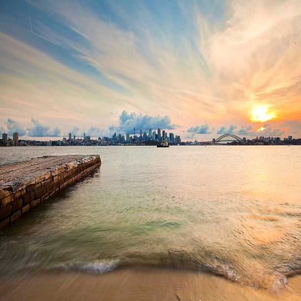 View of Sydney harbour from Bradleys Head... #Australia  by seanjhogan (instagram)