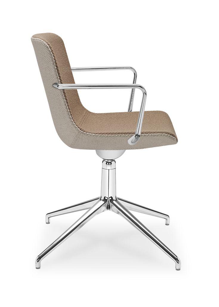 Milos - moderní otočná židle vhodná do jednací místnosti