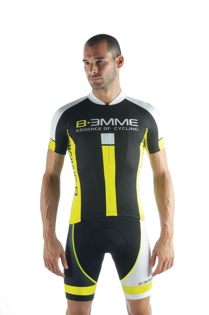 Biemme Men's IDENTITY cycling / bike jersey