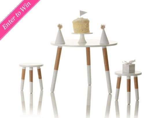 Giveaway: Little Nest Little Dipper Table And Chair Set. Play TableKid ...