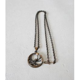 halsketting met hanger brons Karl Laine Finland