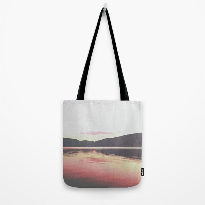 """Keep Dream Alive Tote Bag by ARTbyJWP via Society6 #tote #bag #shoppingbag #fabricbag #sunsetcolors -- Our quality crafted Tote Bags are hand sewn in America using durable, yet lightweight, poly poplin fabric. All seams and stress points are double stitched for durability. They are washable, feature original artwork on both sides and a sturdy 1"""" wide cotton webbing strap for comfortably carrying over your shoulder."""