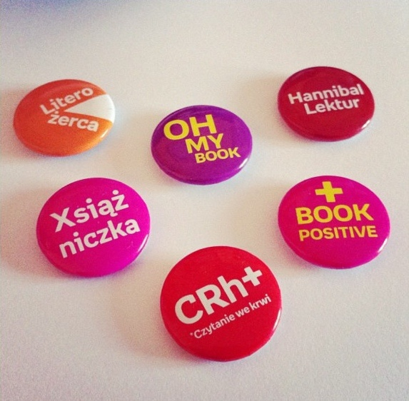 Pins from Empik.