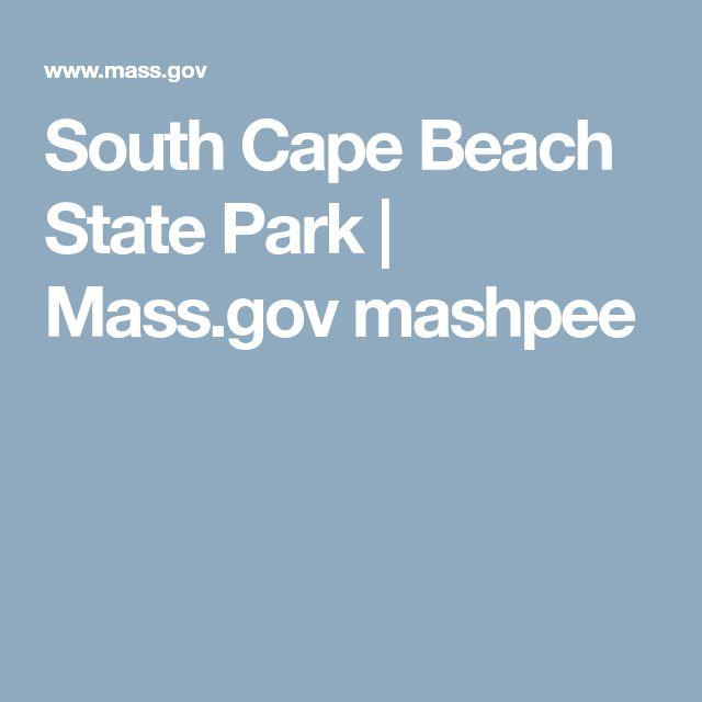 South Cape Beach State Park | Mass.gov mashpee