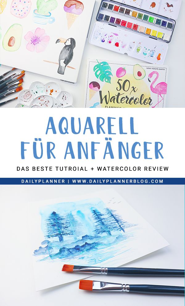Diy Bild Von Theri B In 2020 Aquarellmalerei Aquarell