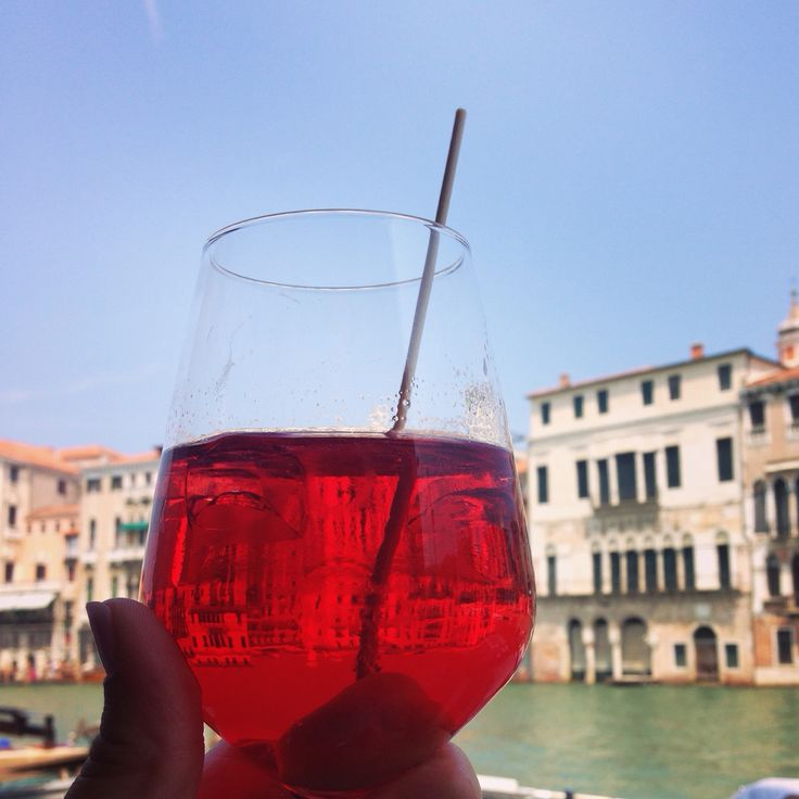 Spritz cocktail Venice Italy