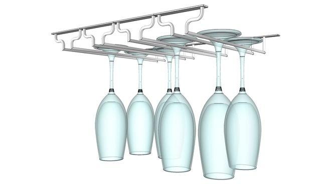 Dish Rack Wine Galss - 3D Warehouse