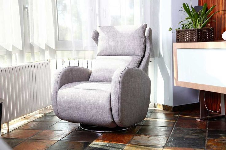 Welcome to Mia Stanza furniture in Nantwich, Cheshire. Suppliers of the Fama Kim recliner armchair. The Kim swivels and reclines.
