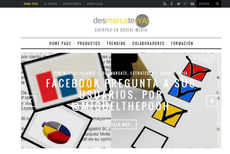 ESTOY ALUCINANDO!!! He encontrado esta lista de: Los 100 Blogs de Social Media y Marketing Online que no te puedes perder | Gigclic.com Y me han colado en el puesto 32.... MIL GRACIAS .... DE TODO CO´RAZÓN!!!