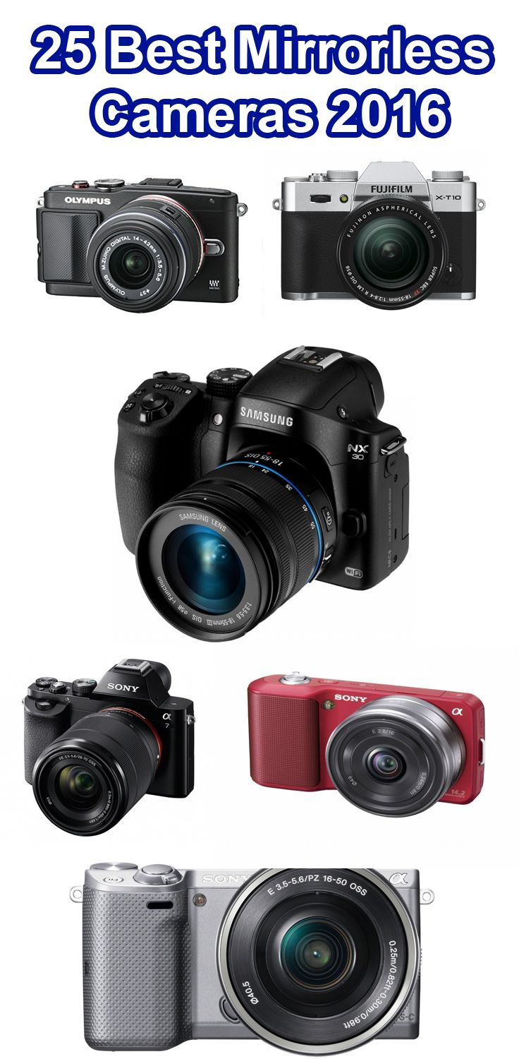 Find the affordable mirrorless cameras 2016 in UK/USA you can buy online. All of these camera are awesome result and reliable including Sony, Nikon etc.