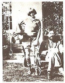 Dora Carrington and Lytton Strachey
