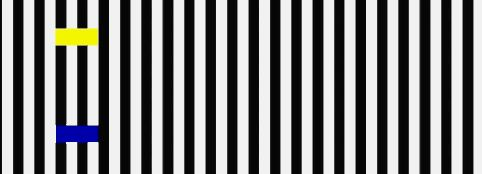 Same with these. Watch when it turns gray: | 22 Optical Illusion GIFs That Will Freak You Out