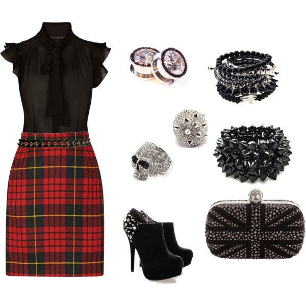 """Punk Chic"" by tara-walker on Polyvore"
