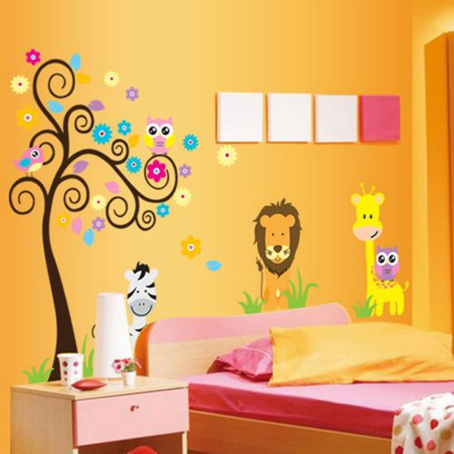 9 best NEW HOME: Toddler Room images on Pinterest | Jungle animals ...