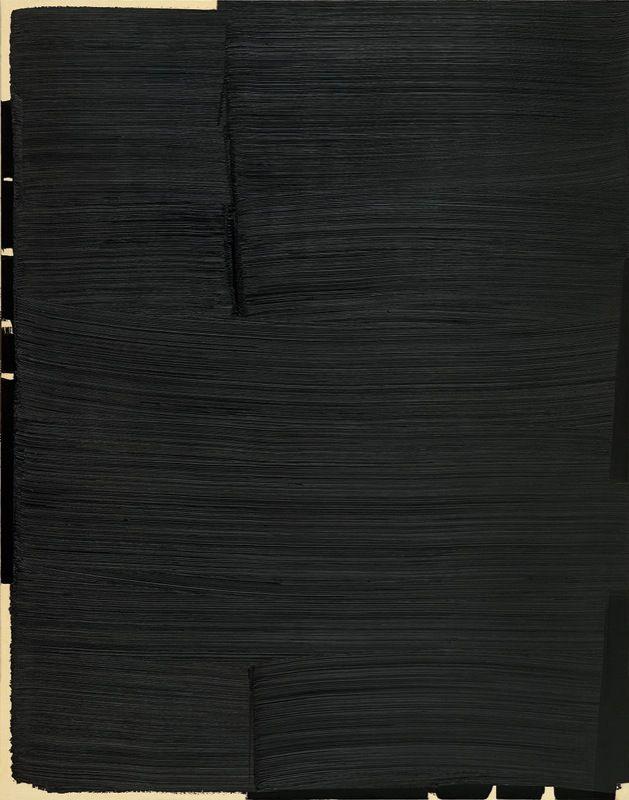 Pierre Soulages, 1979 Courtesy of Musée d'art moderne, Saint Étienne, France