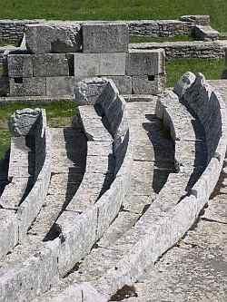 Samnite Archaeological Site at Pietrabbondante ~ Italy ~ Province of Isernia ~ Molise