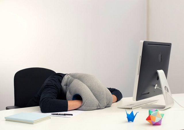 The Ostrich Pillow Lets You Nap Anywhere, Look Like A Tool | OhGizmo!