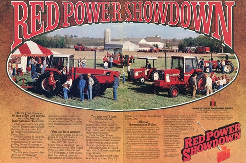 Dd Dd B Acdacba Efa Farmall Tractors Vintage Advertisements