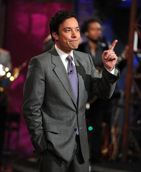 """Jimmy Fallon Photos: Celebrities Visit """"Late Night With Jimmy Fallon"""" - March…"""