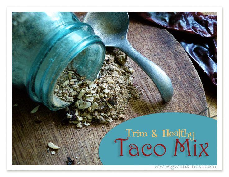 Taco Seasoning Recipe {Trim Healthy Tuesday} - Gwens Nest