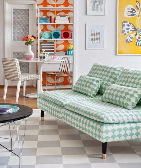 Je change la housse de mon canapé Ikea - 51 idées pour rebooster votre déco - CôtéMaison.fr