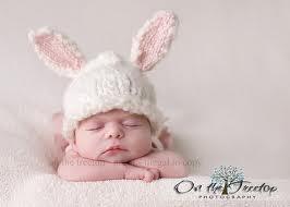 Precious Newborn Easter Picture