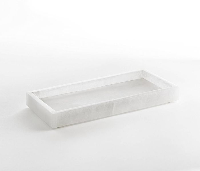 Bathroom Accessories  Alabaster Marble Bathroom Tray   Hudson and Vine. 78 Best ideas about Bathroom Tray on Pinterest   Bathroom sink