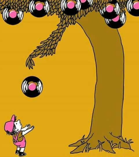 The record tree...sora like the giving tree  ;)