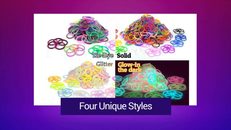 New Loom Bands by Over The Rainbow