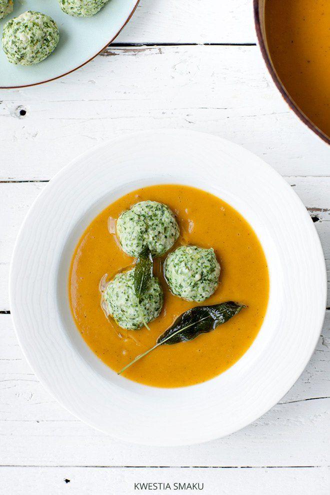 Zupa z pieczonych warzyw i pulpeciki z indyka
