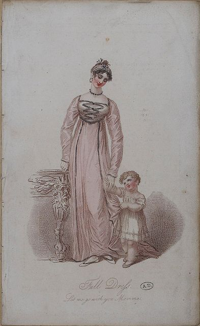 A white frock for this child. 1815
