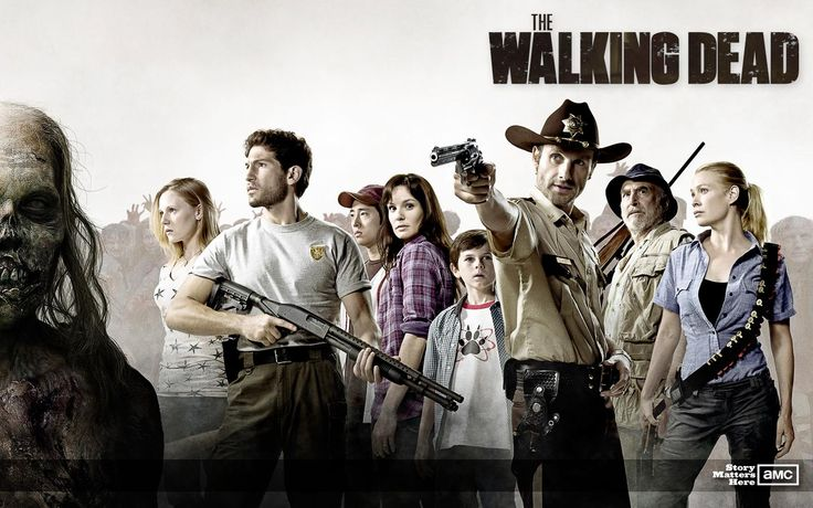 Based on the comic book by Robert Kirkman, The Walking Dead tells the story of life following a zombie apocalypse. Description from flicksnews.net. I searched for this on bing.com/images