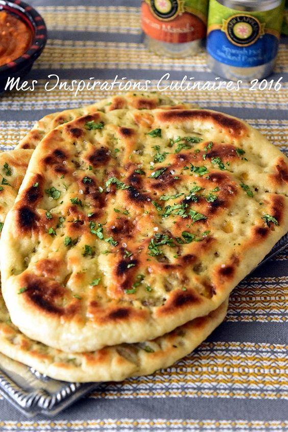 pain naan keema naan farci a la viande hachée - cuisine indienne