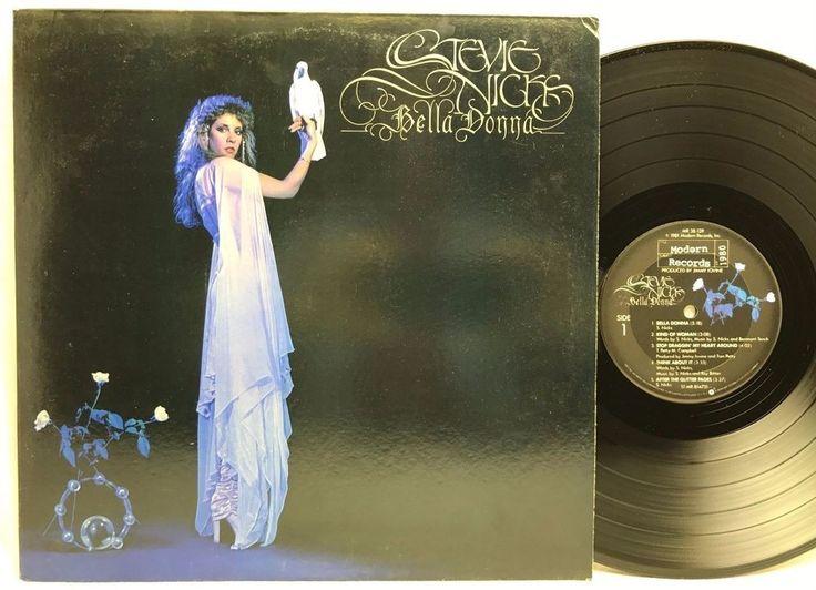Stevie Nicks Bella Donna Original Modern Records 1981 LP, #Vinyl, #Records, Album stores.ebay.com/capcollectbles