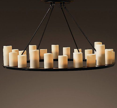 Best 25 Pillar Lights Ideas On Pinterest: 25+ Best Ideas About Hanging Candle Chandelier On