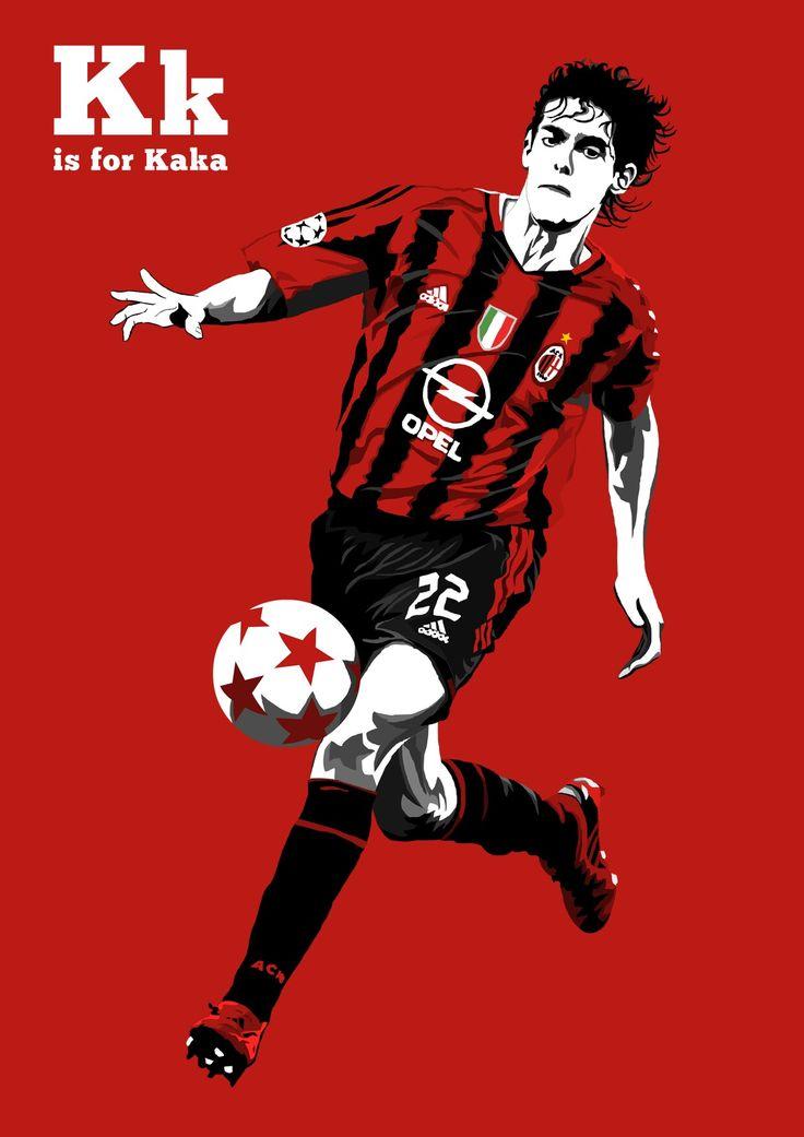 Kaka of AC Milan & Brazil wallpaper.