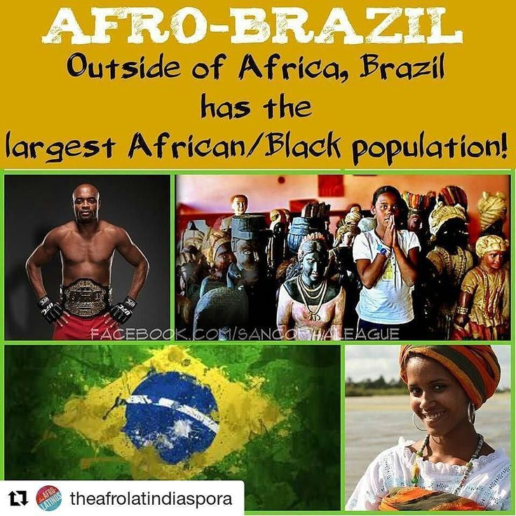 #Repost @theafrolatindiaspora  There's 97 Million Afro Brazilians that's 50.7% of the population.  #Afrolatino #afrocentric #afrodescendente #latino #negro #blacklatino #blacklatina #africandiaspora #colombia #cubana  #hondureño #cuban #cubano #afrocuban #afrobrazilian  #colombiana #latina #cubanita #dominican #roots #bomba #puertorican #boricua #brazil #brazilian #FabWorld