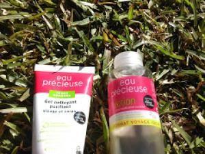 Je teste la gamme Eau Précieuse (Gel nettoyant et lotion purifiante) • Hellocoton.fr
