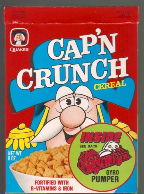 1970's captain crunch cereal - Google Search