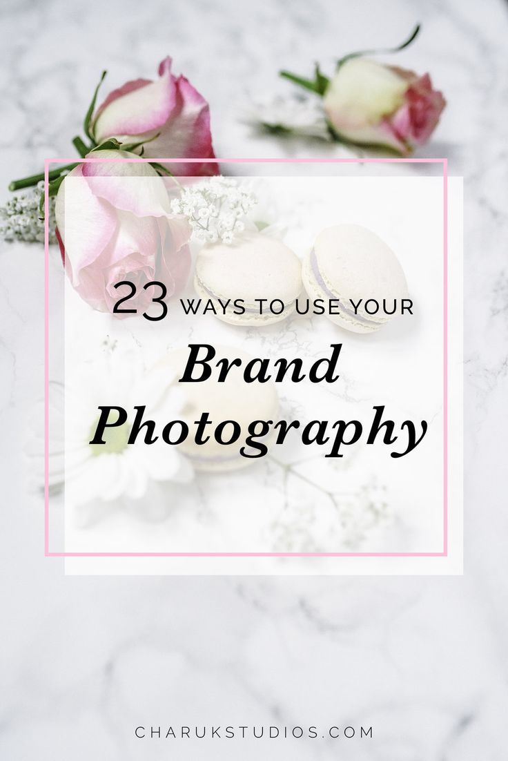 As an entrepreneur, there are countless places where you need to use photography for your business. Every aspect of marketing includes visuals, so what, where and how you use them is key to creating a successful brand and marketing strategy. Photography showcases your product and is the vis