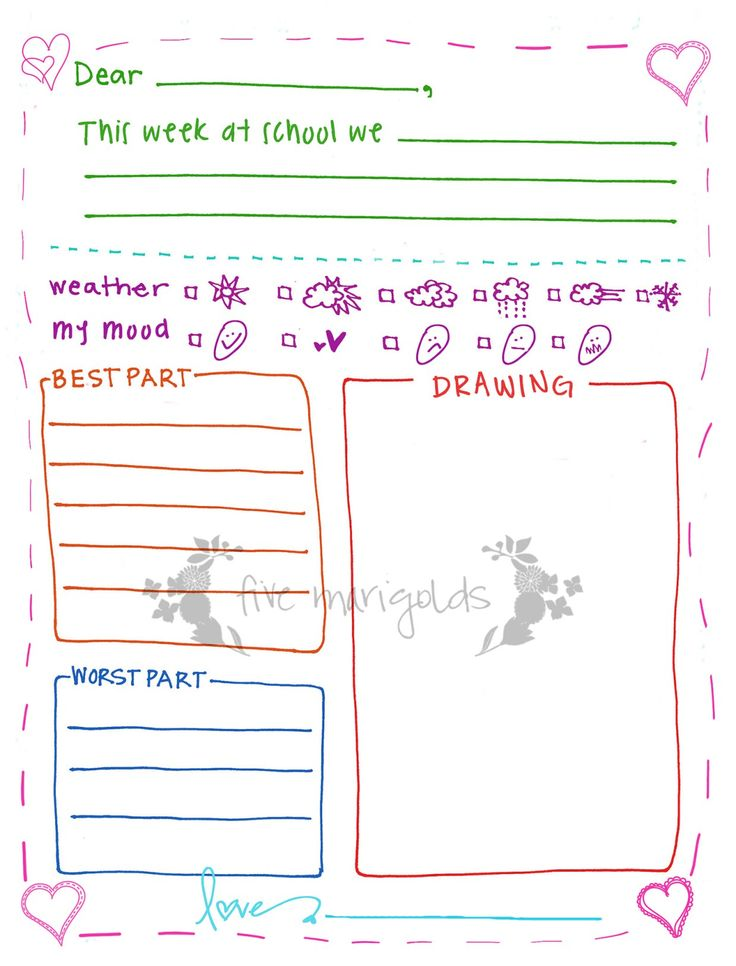 1000+ ideas about Letter Writing Template on Pinterest | Letter ...